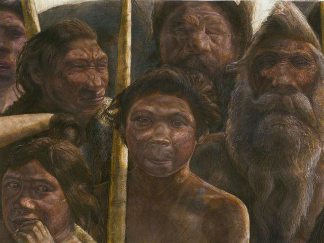 Обладатели костей из Sima de los Huesos жили около 400 тысяч лет назад (иллюстрация Kennis Kennis, Madrid Scientific Films).