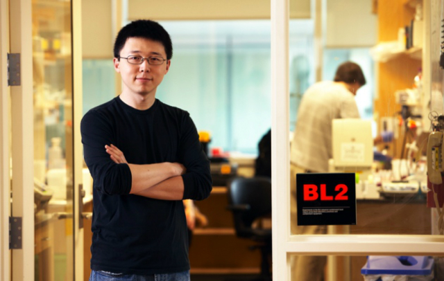 Фэн Чжан — один из основателей Editas Medicine (фото Kent Dayton).