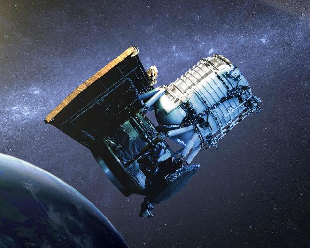 Уникальное открытие было сделано в ходе анализа данных, собранных инфракрасным телескопом NASA WISE (иллюстрация NASA/JPL-Caltech).