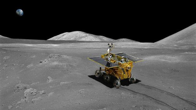Первый китайский луноход в представлении художника (иллюстрация Beijing Institute of Spacecraft System Engineering).