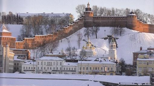 Автор: Нижегородский кремль. Фото А.А. Беляева из книги