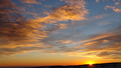 Автор: Рассвет в персиковых тонах в Кисловодском парке