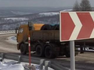 """Якутские дорожники приводят в порядок федеральную трассу """"Лена"""""""