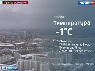 На Москву надвигается сильный снегопад