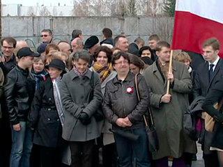 Россия и Польша почтили память погибших в катастрофе под Смоленском