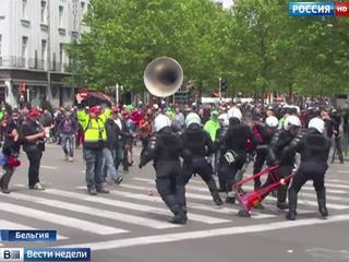 Побоище в Париже: молодежь крушила все на своем пути