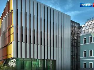 Новый Дом русского зарубежья в Москве покроют панелями-хамелеонами