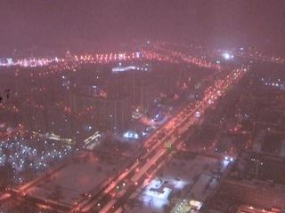 Москву начало заваливать снегом