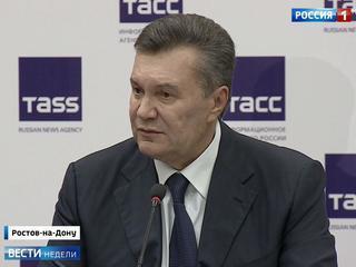 Янукович сообщил, что наемники устроили на него засаду
