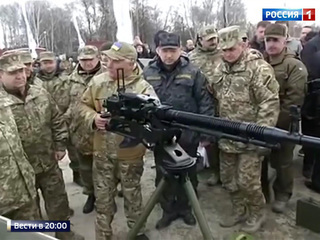 Президент Украины с помощью силовиков собирает дань