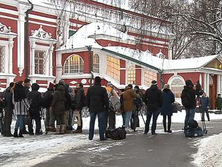 Москва прощается с Доктором Лизой