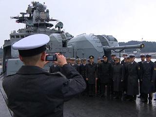 Корабли Тихоокеанского флота зашли в Японию для совместных учений
