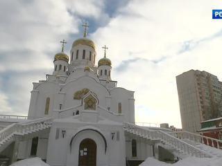 В подмосковном Реутове заканчивают роспись храма Святой Троицы