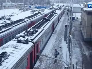 Электрички на Курском направлении идут с опозданием