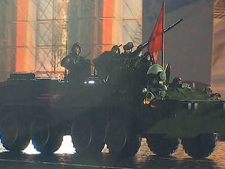 The First Rehearsal for the Victory Day Parade Took Place in Moscow