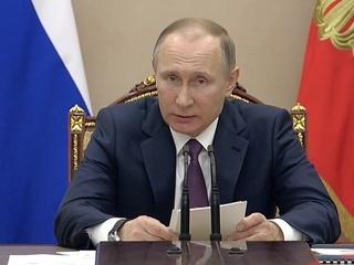Путин: либерализация в области контроля за наркотиками недопустима