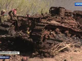 75 Years Under Water: M3 General Stuart Tank Was Found at the Bottom of the Don