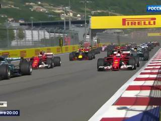 Formula 1 in Sochi Carried Away Both Participants and Guests