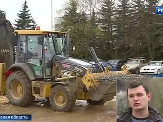На Шереметьевском шоссе началась масштабная реконструкция