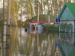 Пик паводка на Ишиме: вода приблизилась к критической отметке