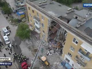 Взрыв газа в Волгограде: предварительная версия – незаконные работы