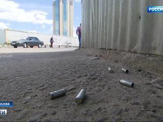 Гаражный кооператив в Москве обстреляли 20 молодчиков