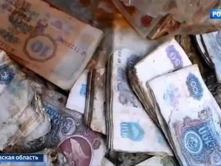 """В Подмосковье нашли """"денежное болото"""""""