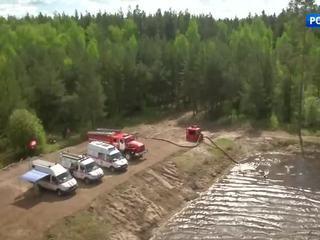 В Подмосковье потушили уже более 50 лесных пожаров