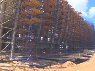 Строительство аэропорта в Крыму идет рекордными темпами