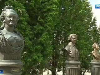В столице открылась Аллея правителей Зураба Церетели