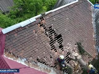 Из-за урагана 15 населенных пунктов в Подмосковье остаются без света