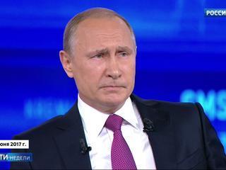 Путин рассказал онкобольной девушке историю об отце и подбодрил