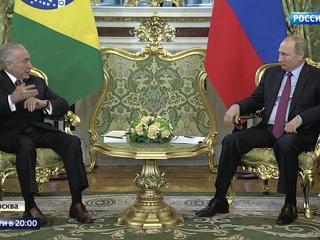 Космос, газ, атом и даже футбол: президенты России и Бразилии договорились о сотрудничестве