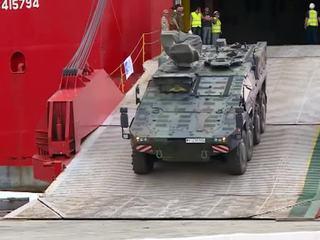 """""""Достойный партнер"""": в Грузию прибывает военная техника НАТО"""