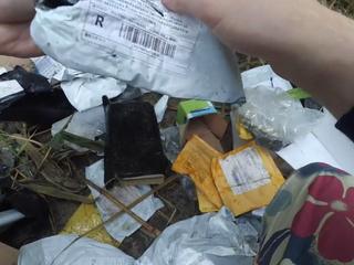 Под Ростовом нашли свалку пустых посылок
