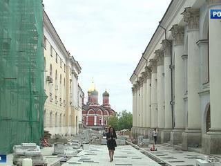В центре столицы заканчивают благоустраивать одну из самых старых улиц
