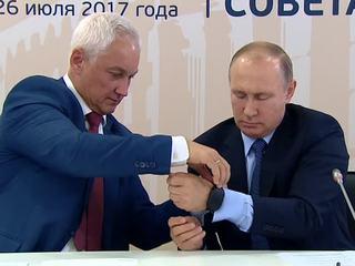 Путин измерил уровень стресса