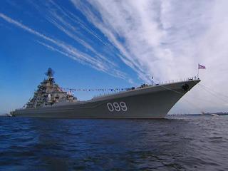 Россия отметила День ВМФ военно-морскими парадами
