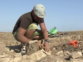 В Крыму нашли древнегреческую могилу ребенка