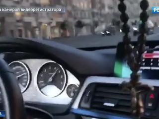 Скорость под 200: новое видео лихого заезда по Кутузовскому