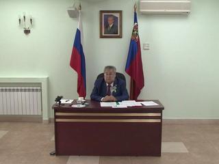 Тулеев провел первое совещание после болезни