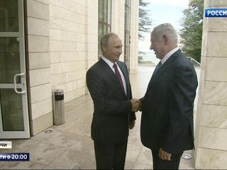 День открытых дверей: в Сочи Путин принял Нетаньяху, кардинала Паролина и Саргсяна