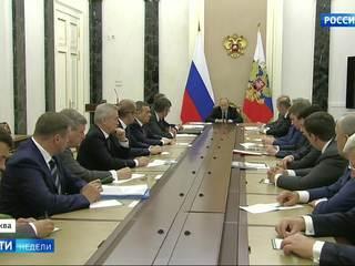Путин принял в Кремле 16 избранных губернаторов