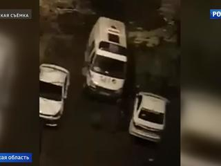 В Пушкине двое молодчиков избили водителя скорой помощи. Видео