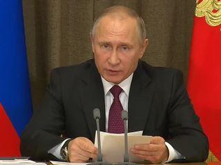 Путин: армия получила свыше 3 тысяч единиц нового и модернизированного вооружения