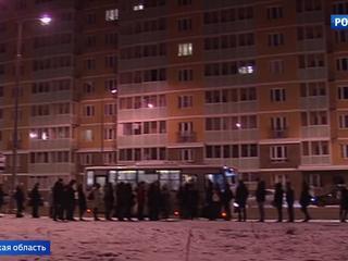 Очередь в Москву: жители Люберец мерзнут в ней по часу