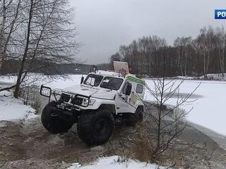 Столичные лесопарки и заповедники будут патрулировать на уникальных вездеходах