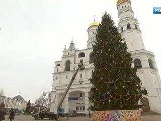 Главная елка страны оделась в стиле русской ярмарки