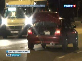 В ДТП на юго-востоке Москвы пострадала 54-летняя женщина