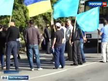 Экстремисты с украинской границы с Крымом вдруг объявили жителям полуострова так продовольственную блокаду